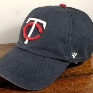 Forty Seven Minnesota Twins Baseball hat size L